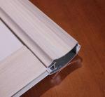 Rectangle 6063 T5 Aluminium Door Profiles Wear And Alkali Resistance Manufactures