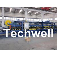 China Rubber Belt Continuous Sandwich Panel Machine for Insulated Roof Wall Sandwich Panels on sale