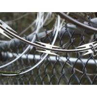 OEM Professional Security Razor Wire , Razor Sharp Wire BTO-10 BTO-12 Manufactures