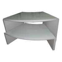 2 Layers MDF Wood Retail Display Nesting Tables Manufactures