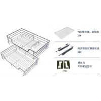 Profession Customized Pull Out Wire Baskets For Kitchen Units Integrated Silent System Manufactures