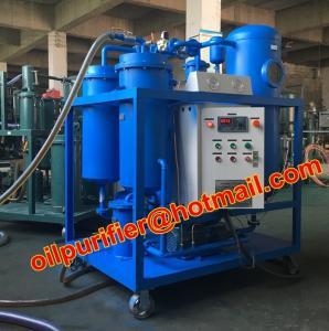 Turbine used Oil Filtration machine, Dewater and break emulsification, multi-stage filtration via auto-back  flush Manufactures