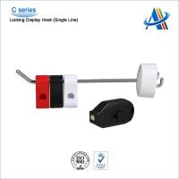Retail open display security solution,single prong hanging display hook with magnetic hook lock Manufactures