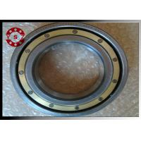 Brass Caged Deep Groove Ball Bearings 6220 Bearing With C4 Clearance Manufactures