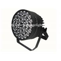 400W LED Par Can Lighting 36pcs 4 in 1 RGBW Led DJ Stage Lights 1 Year Warranty Manufactures