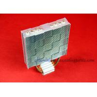 120W Aluminum Fin Copper Pipe Heat Sink For Computer Cooling Manufactures