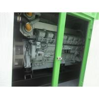 China 40 Feet Container Type Generator Green Color 1350KW / 1700KVA 3 Pole MCCB on sale