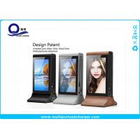Huge Capacity Multi Port Usb Charger Station With 7 inch 1080p Display For Advertising Manufactures
