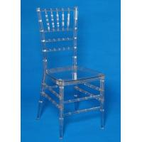 Durable Armless Resin Clear Chiavari Chair , Disassembled Polycarbonate Chair Manufactures