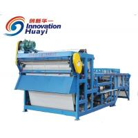 Blue Mining Industry Belt Filter Press For Sludge Dewatering 4-50 t/hr Manufactures