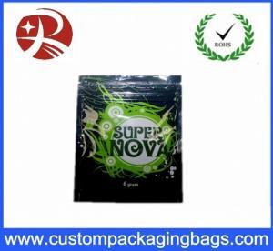 Resealable Custom Packaging Bags Herbal Incense Spice Potpourri Super Nova Incense Bags
