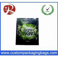 Quality Resealable Custom Packaging Bags Herbal Incense Spice Potpourri Super Nova Incense Bags for sale