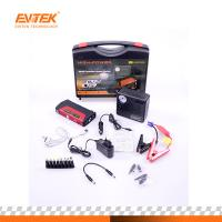 China Evitek 50800 Mah Car Jump Starter Pack With Optianl Air Compressor on sale