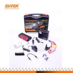 Evitek 50800 Mah Car Jump Starter Pack With Optianl Air Compressor