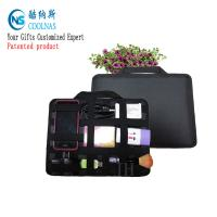 Neoprene Grid It Gadget Organizer , Waterproof Electronics Organizer For Travel Manufactures