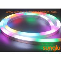 China RGB LED Neon Rope Light 2835 80 LED / M DC 24v LED Tape Light For Holiday Parties on sale