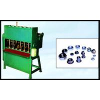 China 380V Full Automatic Nut Tapping Machine With Double Head , Green Color on sale