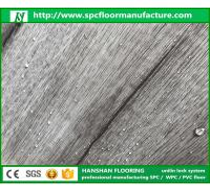 Homogeneous vinyl Eco vinyl floor tiles click system spc pvc flooring Manufactures