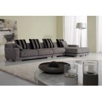 2 Seater Italian Fabric Sofa Set , Modern Living Room Couches Furniture Manufactures