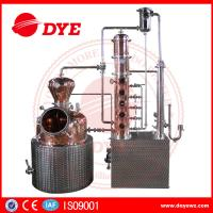 200L automatic  alcohol wine distiller copper equipment for vodka making Manufactures