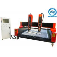 Dual Spindles 3D Cnc Router Stone Engraving Machine For Carving Natural Marble Manufactures