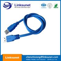 Blue USB 2.0 - A Plug Soldering Injector Wiring Harness Customized UL94 - V0 Pin 4 Manufactures