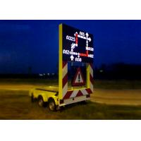 China Flexible Portable Changeable Message Boards , Electronic Message Board Signs on sale