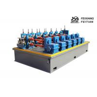 Automatic Steel Tube Making Machine , Stainless Steel Pipe Welding Machine Manufactures