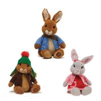 Stuffed Animals Easter Peter Rabbit Bunny Plush Toys For Festival Celebrate Manufactures