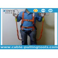 Buy cheap Fall Protection Systems Construction Full Body Harness Industrial Safety Belt from wholesalers