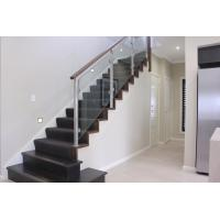 Customized Modern High Quality Stainless Steel Glass Railing for Stairs Manufactures