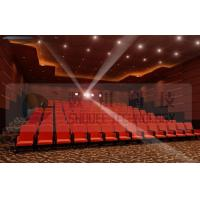 Upscale 4D Cinema System With Motion Chair And Cinema Special Effects Manufactures