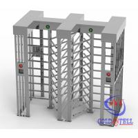 China Height 2300mm Stainless Steel High Security turnstile full heightfor Workshop Management on sale