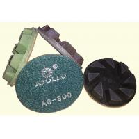 High Performance 3'' Hard Diamond Ceramic Polishing Pads For Stone Processing Manufactures