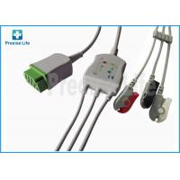 China Rectangle 11 pin connector GE-Marquette ECG cable 2021141-001One-piece type on sale