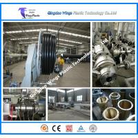 16-630 HDPE pipe extrusion line Plastic Pipe Extruder Manufactures