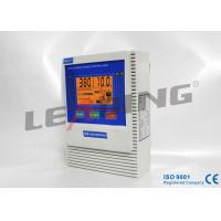 Three Phase Intelligent Pump Controller Wall Mounting With LCD Display Manufactures