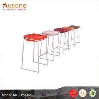 Hot sale!simple and modern style China factory metal base bar stool chair
