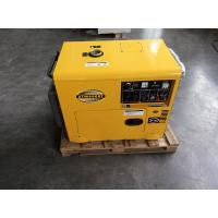 China 6000W AC Single Phase Double Voltage Small Diesel Generators 12 Months Warranty on sale