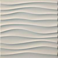 Quality Thickness 1mm 3D PVC Wall Panels For Household / Administration / Commerce for sale