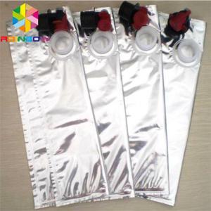 China 330ML Aluminum Foil Bags Red Wine Dispenser BIB Beverage Spout Tap Packaging on sale