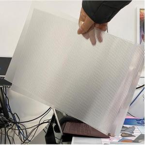 3D Lenticular sheet for UV printing material thinnest 51X71CM 0.25MM PET Lenticular Lens Film3d sheet lenticular lens Manufactures