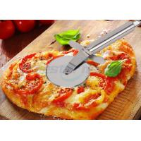 Sanding Polishing Stainless Steel Pizza Cutter With Handle Filler 198 x 67 x 25mm Manufactures