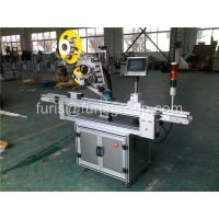 Safety Automatic Label Applicator 2400×1350×1500 mm Flat Bottle Labeling Machine Manufactures