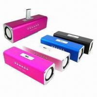 Sports Mini Portable Sound Box/Amplifier Speakers for MP3 Player, with Built-in Lithium Battery Manufactures