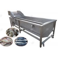 Bubble Cleaning Fish Washing Machine , Henan GELGOOG Machinery High Efficiency Manufactures