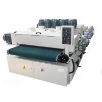 wire drawing & reliefs machine woodworking steel brush and emboss machine Manufactures