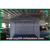 3 x 3m Aluminum Folding Tent With Three Side Walls Print for Advertising Manufactures