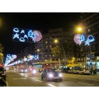 China Christmas Across Street Motif/outdoor christmas street light  decoration on sale
