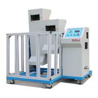 Mobile Phone Drop Testing Machine , Two Zones Lab Drop Test Equipment Manufactures